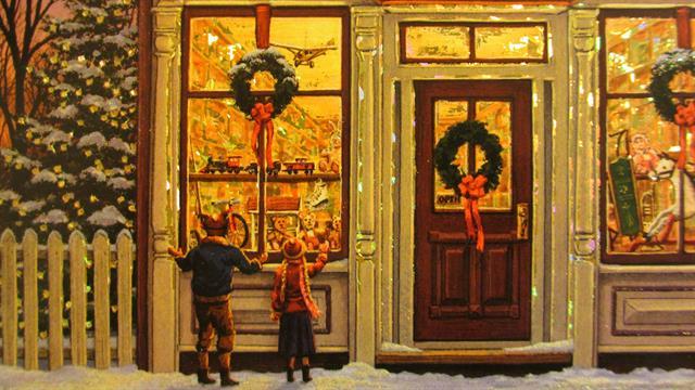 Weihnachten Nostalgisch.Kids N Fun De 10 Ausmalbilder Von Weihnachten Nostalgisch