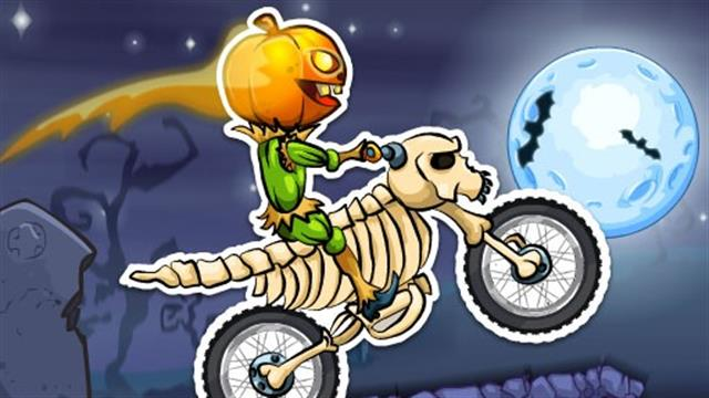 Moto X3M Spooky Land game
