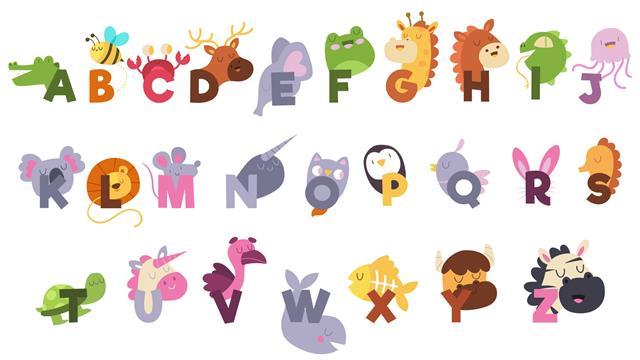 Kids N Fun De 26 Ausmalbilder Von Alphabet Tiere