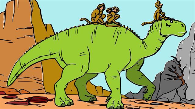 Kids n funde 18 Ausmalbilder von Dinosaurier
