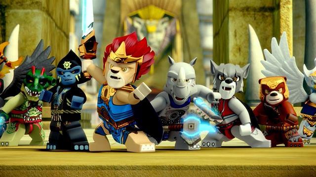 Kids N Fun De 15 Ausmalbilder Von Lego Chima