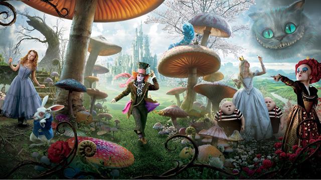 Kids N Funde 11 Ausmalbilder Von Alice Im Wunderland