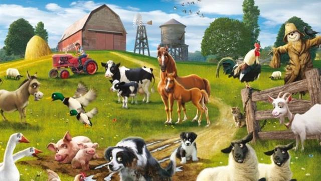Kids N Fun De 12 Ausmalbilder Von Malen Mit Nummern Bauernhof
