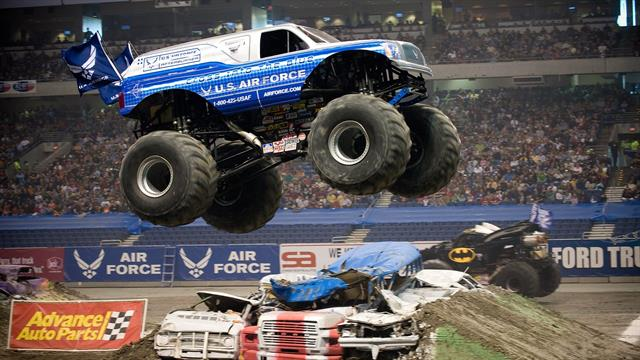 Kids N Funde 8 Ausmalbilder Von Monster Trucks