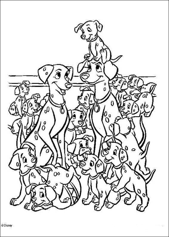 Kids N Fun De 77 Ausmalbilder Von 101 Dalmatiner