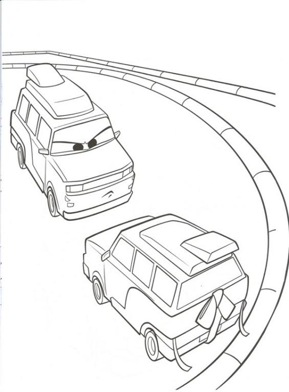 kidsnfunde  malvorlage cars 2 cars 2