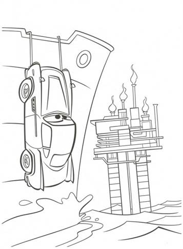 Kids N Funde 38 Ausmalbilder Von Cars 2