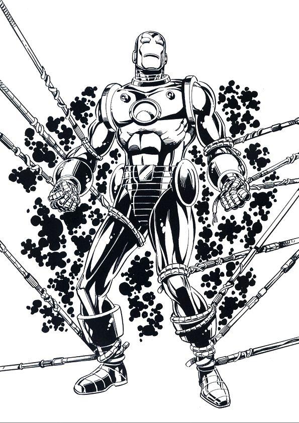 kidsnfunde  malvorlage iron man iron man