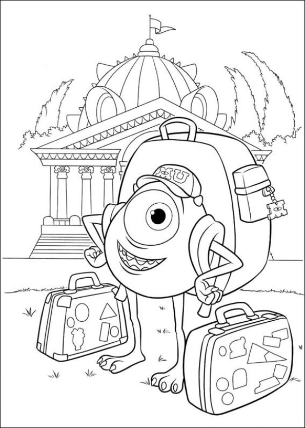 uni coloring pages - photo#1