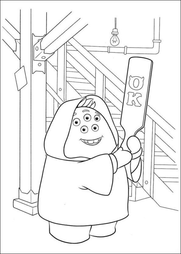 Kids-n-fun.de   45 Ausmalbilder von Monsters University