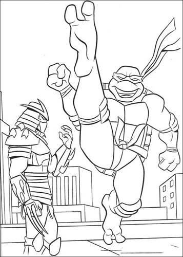 Kids N Fun De 80 Ausmalbilder Von Ninja Turtles