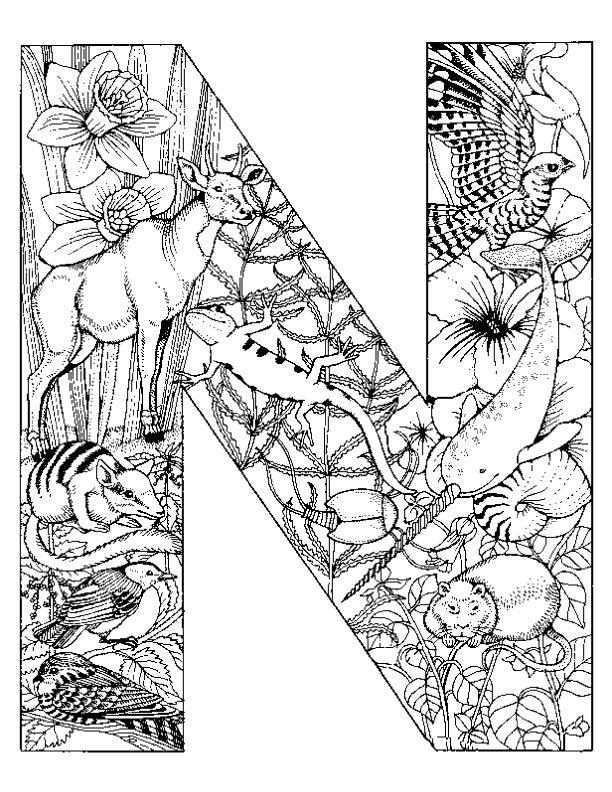 Großzügig Malvorlagen Alphabet Tiere Galerie - Framing Malvorlagen ...