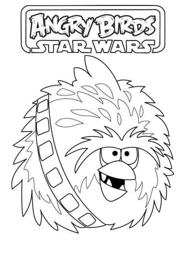 Kids N Fun De 7 Ausmalbilder Von Angry Birds Star Wars