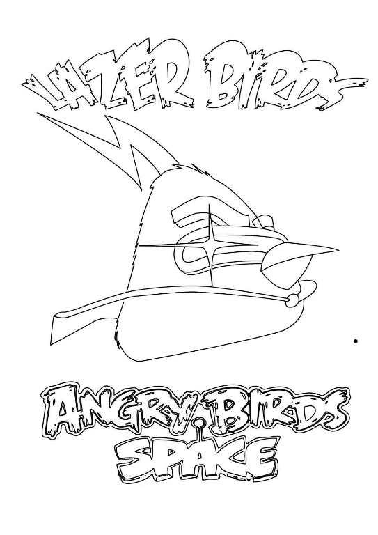 Ausmalbilder Angry Birds 11: 9 Ausmalbilder Von Angry Bird Space