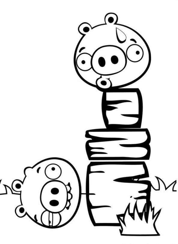 Kids-n-fun.de | 42 Ausmalbilder von Angry Birds