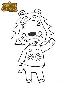 Kids-n-fun.de | 34 Ausmalbilder von Animal Crossing