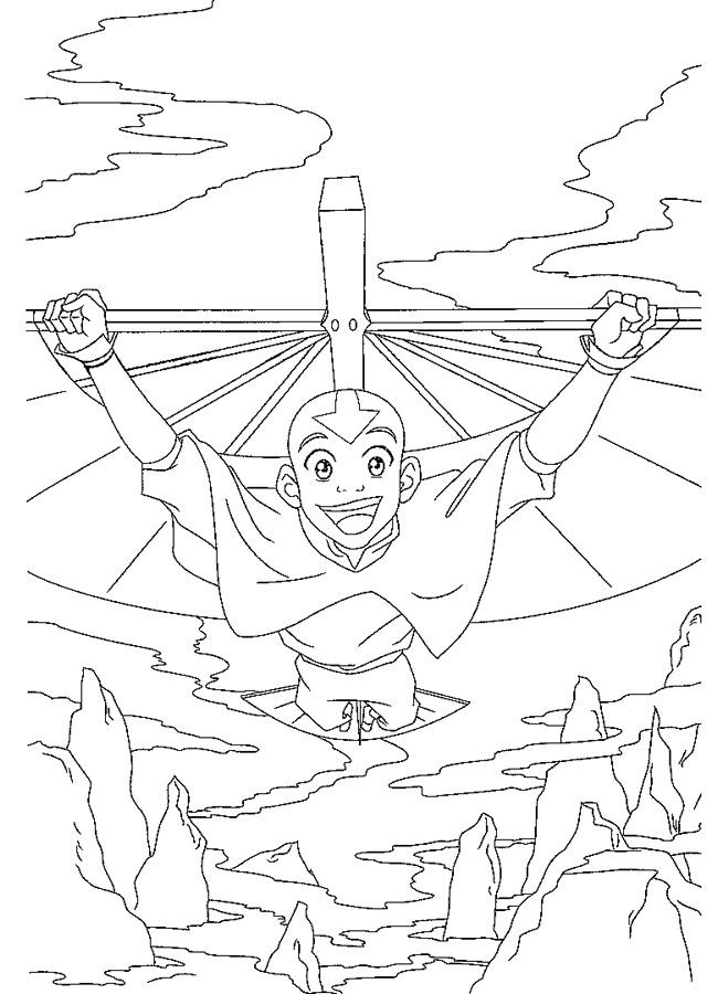 Kids-n-fun.de   28 Ausmalbilder von Avatar