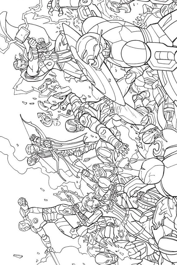 Captain America Coloring Pages Blank