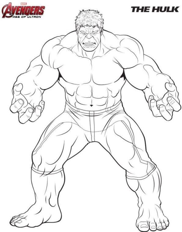 Superhelden Avengers Ausmalbilder: 18 Ausmalbilder Von Die Rächer (Avengers