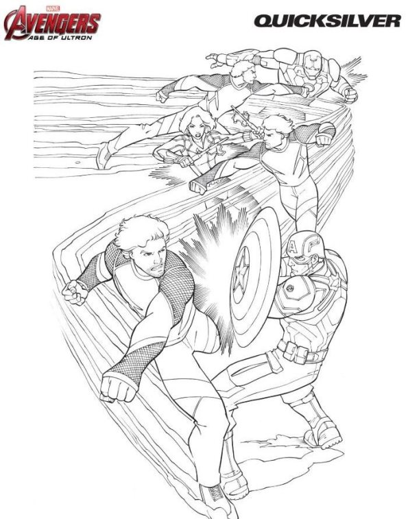 Marvel Wolverine Lego Coloring Pages