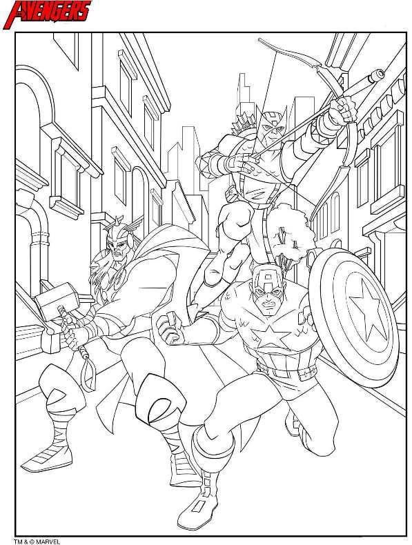 Avengers Malvorlagen Zum Ausdrucken My Blog