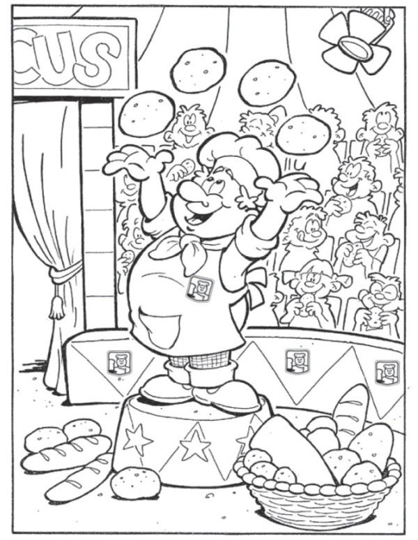 Bakker on printable summer coloring pages