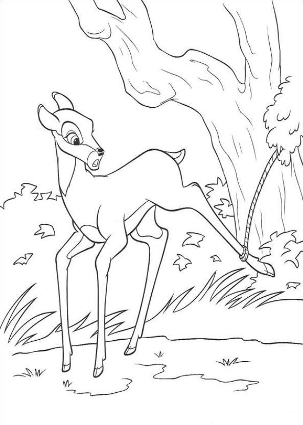 kidsnfunde  malvorlage bambi 2 bambi 2