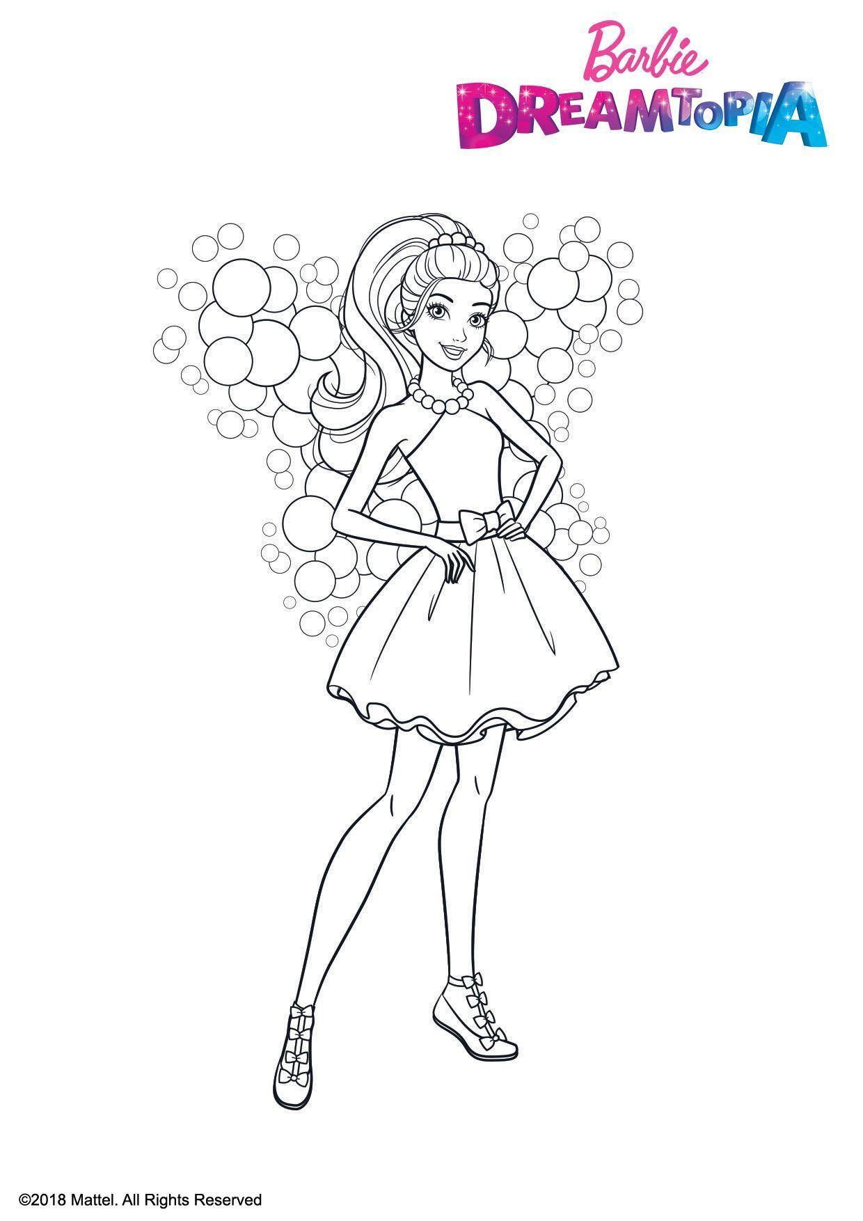 kidsnfunde  malvorlage barbie dreamtopia barbie fairy