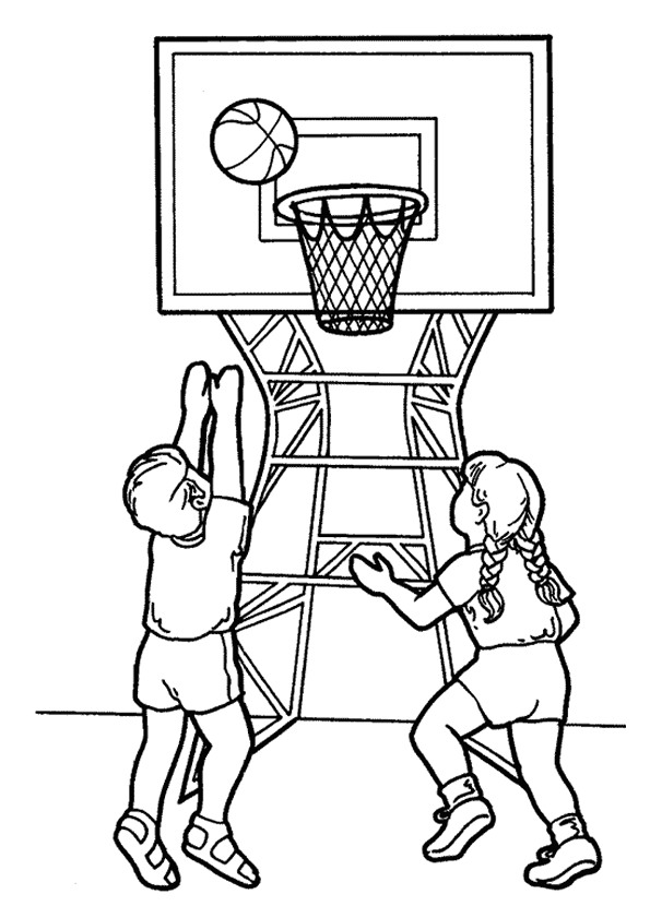 Kids-n-fun.de | 17 Ausmalbilder von Basketball