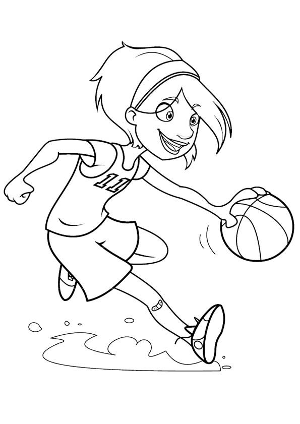 Niedlich Basketball Malvorlagen Nba Spieler Zeitgenössisch ...