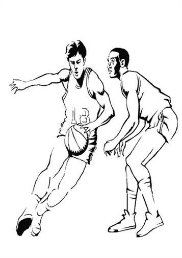 kidsnfunde  17 ausmalbilder von basketball