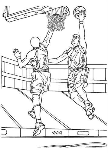 Kids N Funde 17 Ausmalbilder Von Basketball