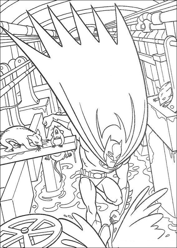 kids-n-fun.de   malvorlage batman batman