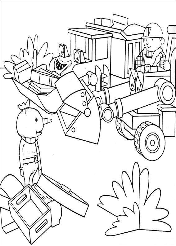Kids N Fun De 87 Ausmalbilder Von Bob Der Baumeister