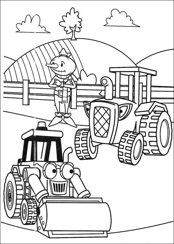 kidsnfunde  malvorlage bob der baumeister bob der