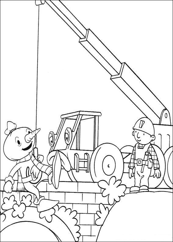 kidsnfunde  87 ausmalbilder von bob der baumeister