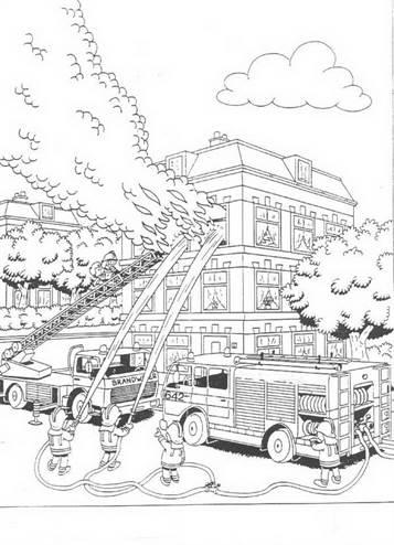 Kids N Funde 28 Ausmalbilder Von Feuerwehr