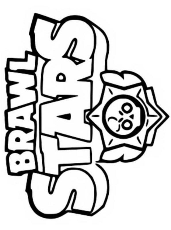 kidsnfunde  malvorlage brawl stars brawl stars logo