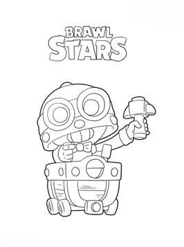 Kids-n-fun.de | 26 Ausmalbilder von Brawl Stars