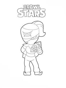 Kids N Fun De 26 Ausmalbilder Von Brawl Stars