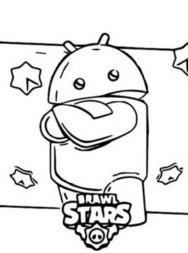 Coloring and Drawing: Brawl Stars Coloring Pages Shark Leon