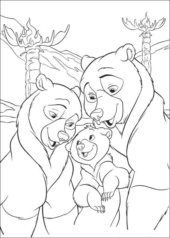 Kids-n-fun.de | 58 Ausmalbilder von Bärenbrüder 2