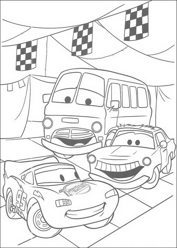 kidsnfunde  malvorlage cars pixar cars pixar