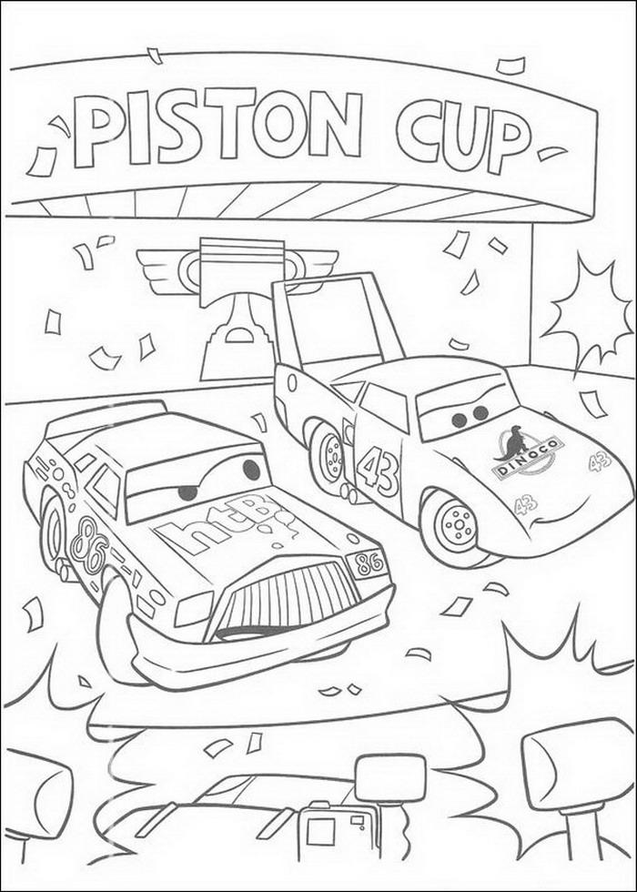 Kids-n-fun.de   84 Ausmalbilder von Cars (Pixar)
