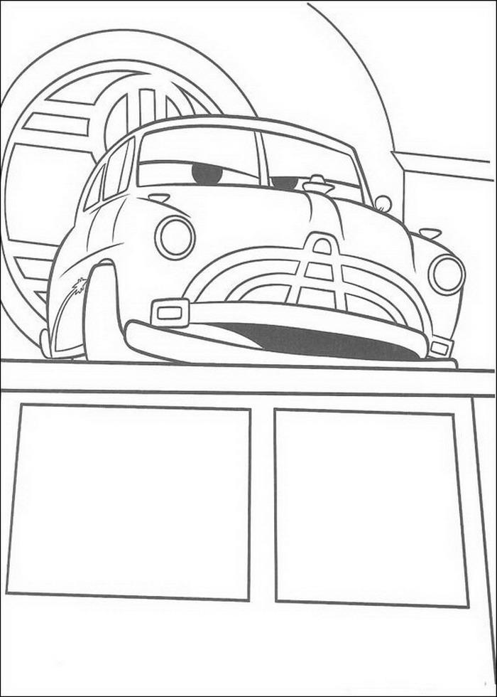 kidsnfunde  84 ausmalbilder von cars pixar