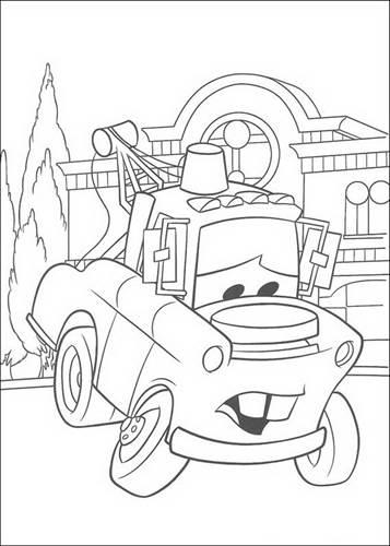 Kids N Fun De 84 Ausmalbilder Von Cars Pixar