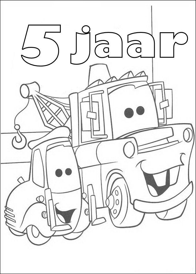 kidsnfunde  malvorlage cars geburtstagskarte cars