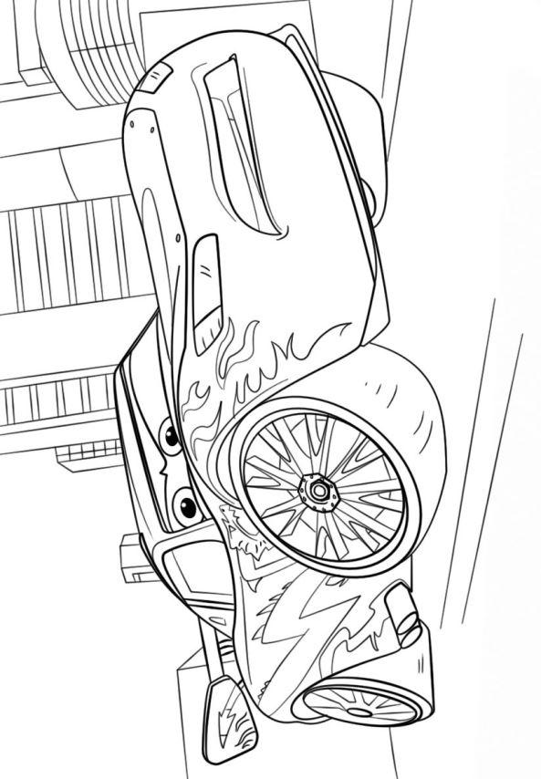 kids-n-fun.de | malvorlage cars 3 lightning mcqueen 2