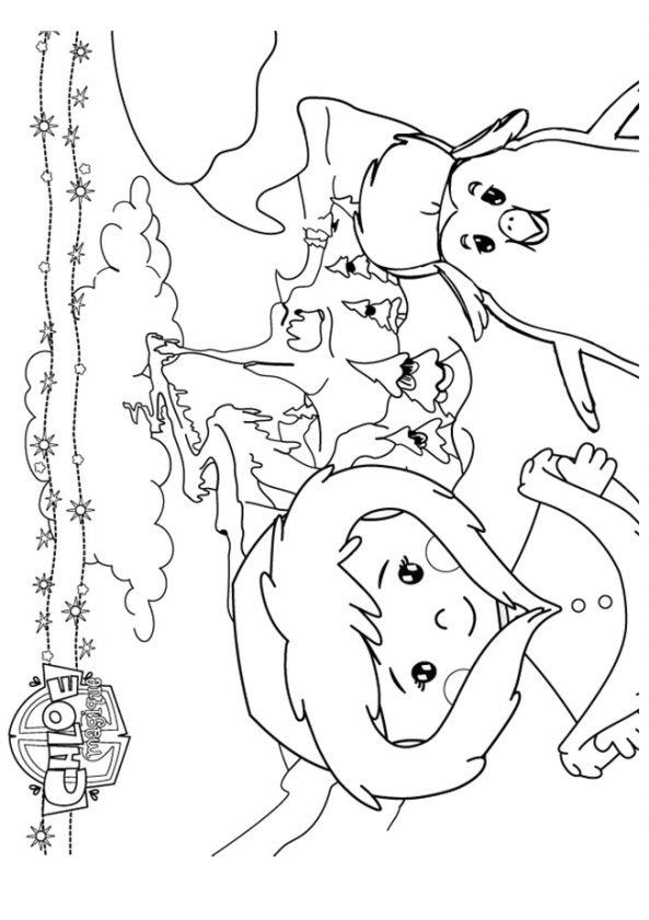 kids-n-fun.de | 26 ausmalbilder von zoés zauberschrank