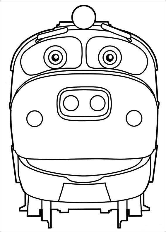 Kids n 24 ausmalbilder von chuggington - Train dessin anime chuggington ...